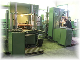 Front Side of Compression Molding Machines