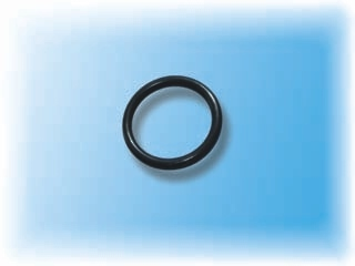 O-ring from fluoroelastomer of VDF+CTFE type for chemical industry - resistant to special medias like chloro